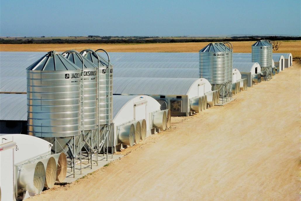 Pellet, feed & seed silos