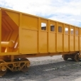 Rail wagon